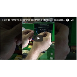 How to remove and install an electronic Control box on Testa Rosa Sporting