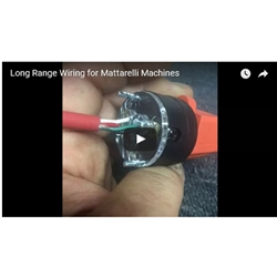 Long Range Wiring for Mattarelli Machines